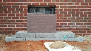 Bridgnorth Housing Trust, Spinners Court Foundation Stone