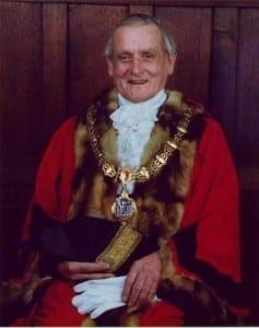 Uncle Jeff Walker, Mayor of Bridgnorth 1975-76