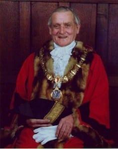 Uncle Jeff Walker, Mayor of Bridgnorth 1975-76