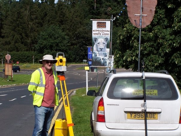 Me surveying the West Midlands Safari and Leisure Park