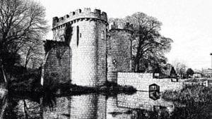 Whittington Castle Sketch