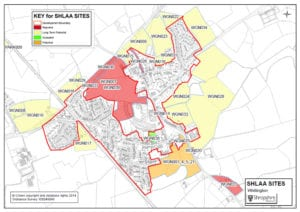 Current SHLAA sites adopted in Whittington