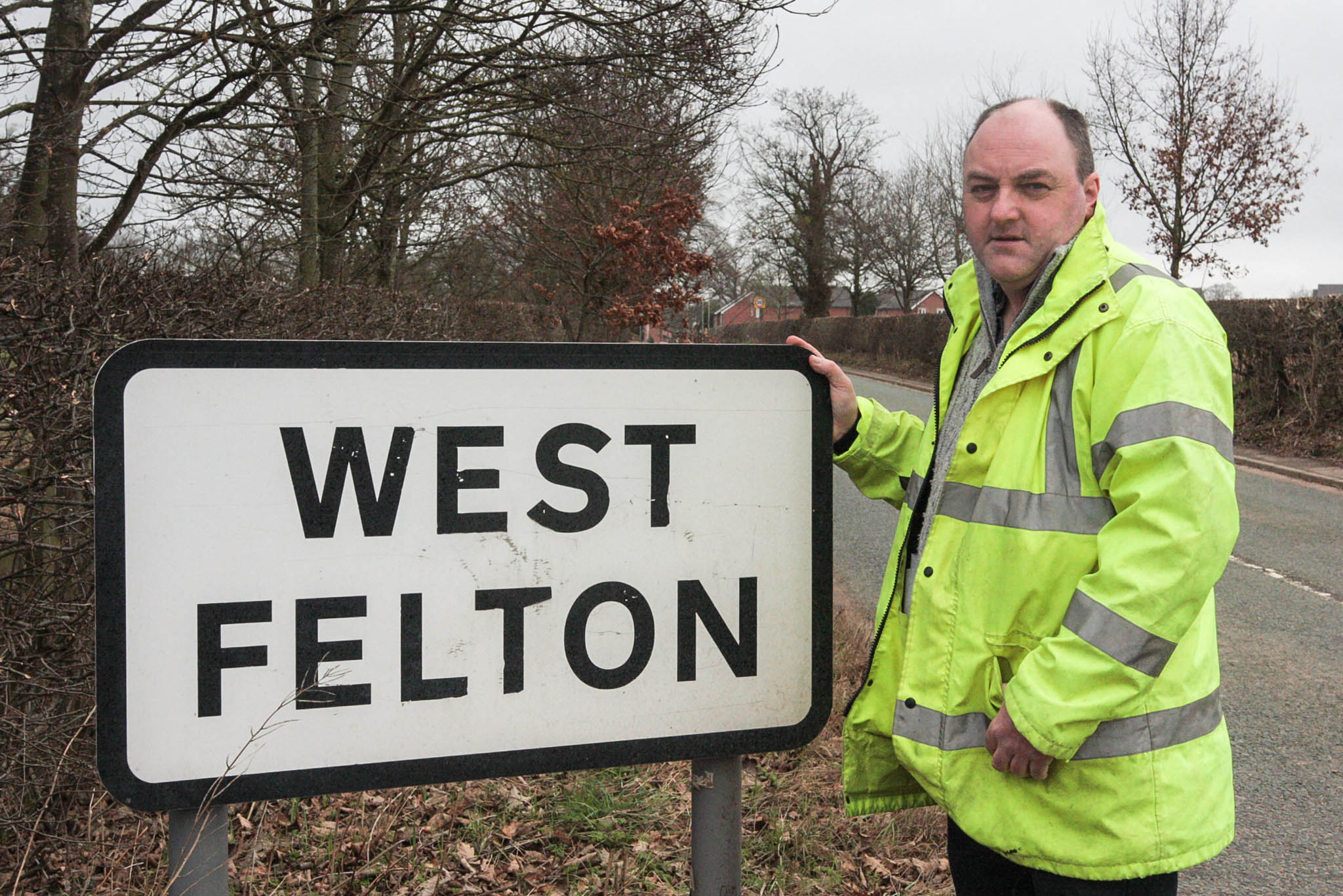 Cllr David Walker fighting for West Felton