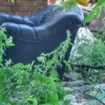 Casework from the election: Fly-tipping in Park Hall from a Shropshire Council owned site