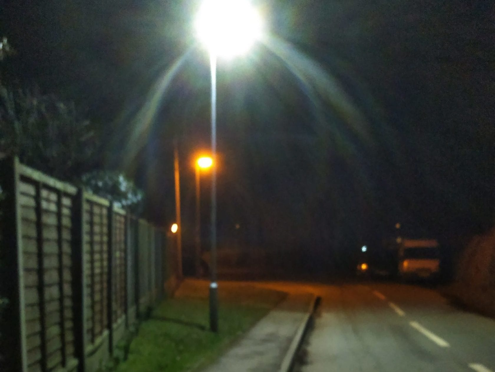 LED street light upgrades help cut crime and improve safety