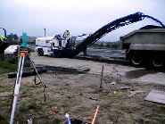 plaining of the A5 during the construction of Nescliffe services