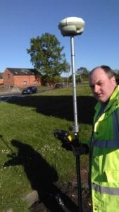 Surveying Station Rd/Holyhead Rd junction visibility splay to help residents object to recent planning application