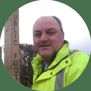 Councillor David Walker Liberal Democrat campaigner for Whittington Division