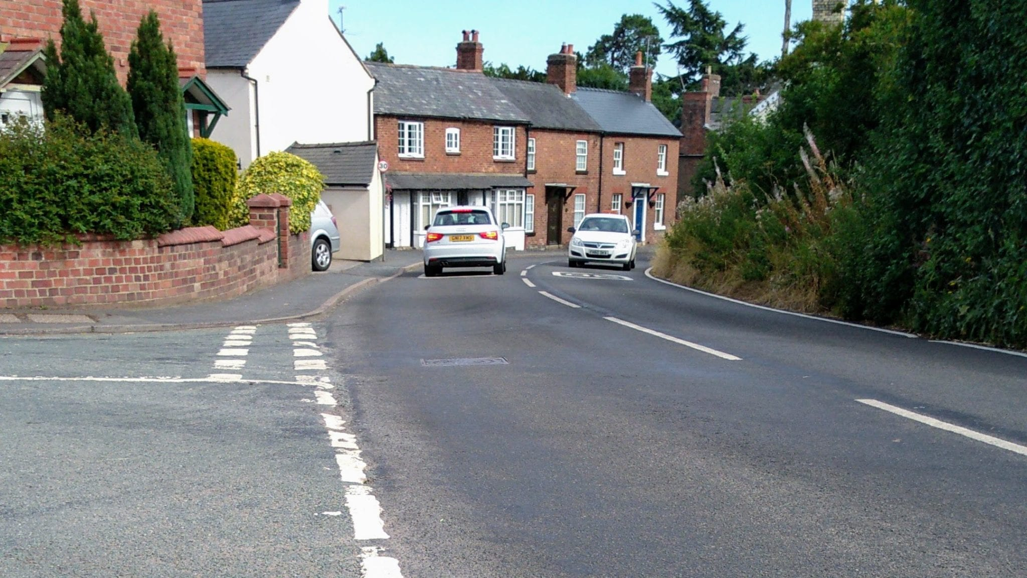 Top Street road safety scheme rejected