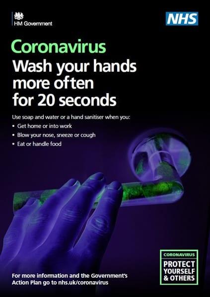 coronavirus update wash your hands more often