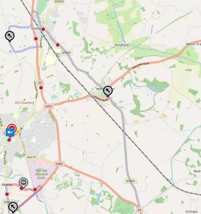 A5 overnight road closure & two diversion routes