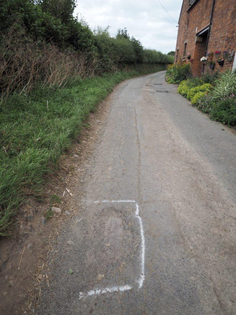 pothole shambles - 2 out of 3 potholes isn't bad?!