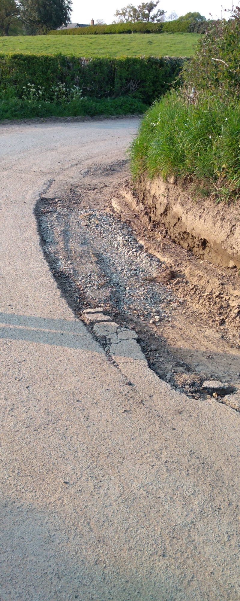 Pothole shambles rumbles on