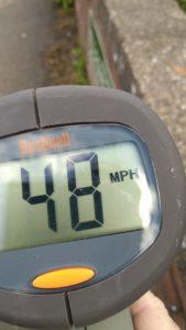 48mph in a 30mph speed limit