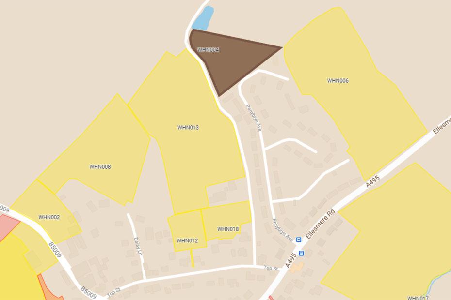 Star Hosing exception site off Penybryn Avenue